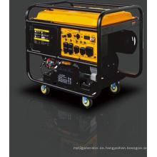 10kVA Tipo abierto Gasolina / Generador de gasolina con arranque eléctrico.