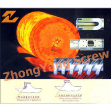 Tambor de fundição centrífuga de barril de parafuso bimetálico