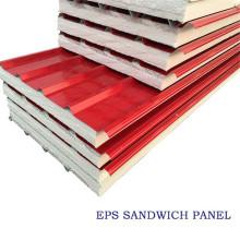 Panneaux sandwich en styromousse pour maisons préfabriquées