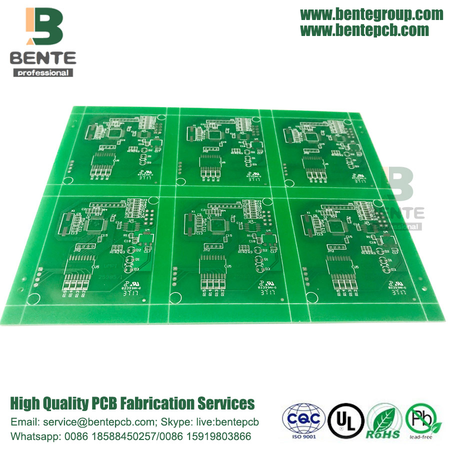 TG135 Custom PCB Hole Copper