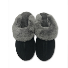 Women's Sheepskin Winter Scuff Slippers
