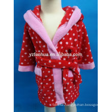 Marketing Popular Lovely Hooded Style Girls' Bathrobe