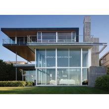 Fenêtres en verre en aluminium à ventilation thermique passive