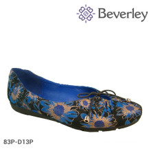 Chinese Factory Price Large Size Flat Women Shoes