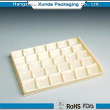 Embalagem de plástico de inserção de bandeja de plástico