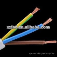 Câble TTR H05VV-F fil flexible