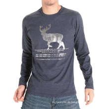 Herstellung in China Fabrikdruck Mode Baumwolle Männer T-Shirt