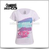 2015 top fashion girl t shirt 95 cotton 5 spandex t shirts