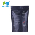 Kemasan Kopi Biodegradable Stand Up Plastic Zipper Bag