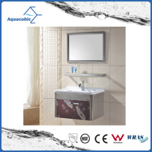 European Style Fashionble Modern Stainless Steel Bathroom Furniture