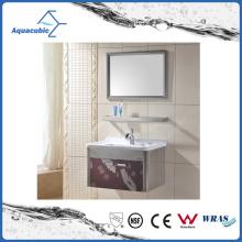 Mobilier de salle de bain moderne en acier inoxydable de style européen