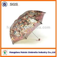 Damen-eleganter Regenschirm in der chinesischen Stickerei-Art