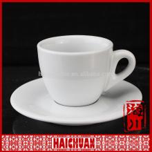 180cc stone plated porcelain bulk tea cup and saucer
