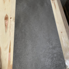 Polished Dark Gray Cement SPC Stone Flooring