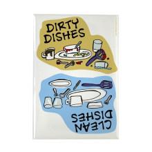 Limpe pratos / ímã sujo dos pratos ímã do retângulo