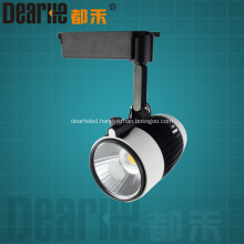 16W High Qulity COB LED Track light 1280LM 85-265V 3000-7000K 200x184x130mm ceiling track spotlight