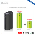 Nano D 2.0ml Subtank keine Leckage 300 Watt Rose Gold Vape Mod