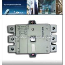 Contactor del elevador de Siemens 3TF48 piezas del elevador de AC / 110V