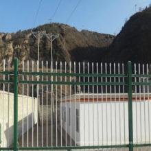 clôture horizontale de clôture en aluminium portable palissade