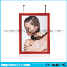 Welcome Design Double Side Advertising LED Picture Frame LED Slim Light Box