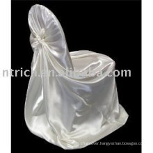 self tied chair cover,satin chair cover, bag chair cover