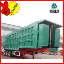 3 Axles Grain Transport Side Dump Semi Trailer
