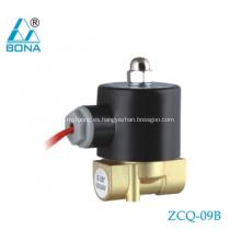 Válvula solenoide de gas soldador de 220V de latón