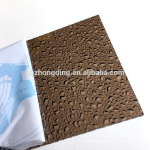 hot sell virgin bayer and sabic PC embossed sheet