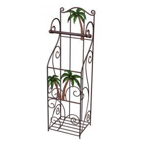 Toilet Paper Holder with Storage Stand- palm tree design