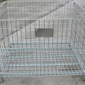 Folding Galvanized Industrial Pallet Cage