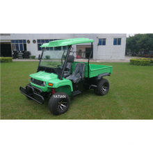 China 2 Seat 5kw 48V Utility Vehicle Farm Truck for Sale