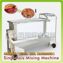 Máquina de mezcla de salchicha / carne / comida de eje único, batidora de alimentos