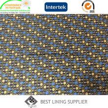 100 Polyester Twill Printed Futterstoff für Herrenanzug und Jacke
