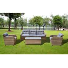 Outdoor New Antique Wicker Furniture Sofa Set