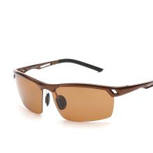 Veithdia alumínio magnésio homens óculos polarizados óculos de sol condução masculino pesca ao ar livre eyewears acessórios