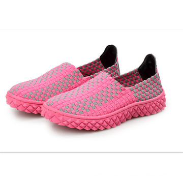 Hand-Knit Fashion Breathable Casual Sports Shoes