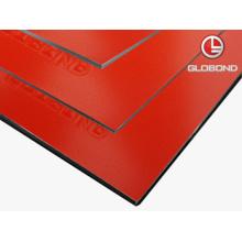 GLOBOND FR Panel compuesto de aluminio ignífugo (PF-471 rojo)