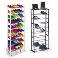 Novo 7 a 10 tier sapato de armazenamento organizador stand prateleira pares sapatos prateleira