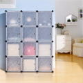 Portable Clothes Closet Wardrobe Bedroom Armoire Storage Organizer with Doors