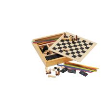 Juego de mesa de ajedrez de madera (CB1015)