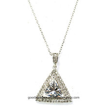 2015 Well-Designed 925 Silver, Silver Pendant Wholesale for Woman P5019W
