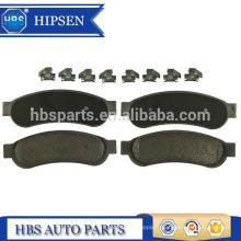 Kit de plaquettes de frein arrière OEM # AC3Z2200B pour ford 2008-2012 F250 F350 F450 F550 SD