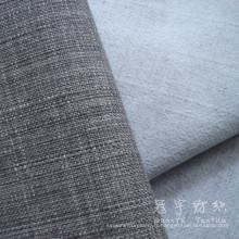 Tissu lin Polyester ignifuge pour canapé
