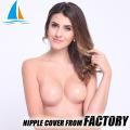 Wiederverwendbare runde Form super sexy Brustwarze Cover