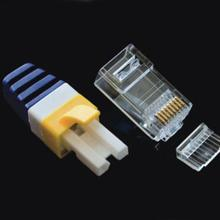 Assemble Connector Cat 6 8 Position