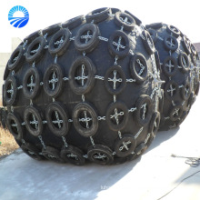 Rubber Pneumatic Fender With Galvanized Chain And Tire