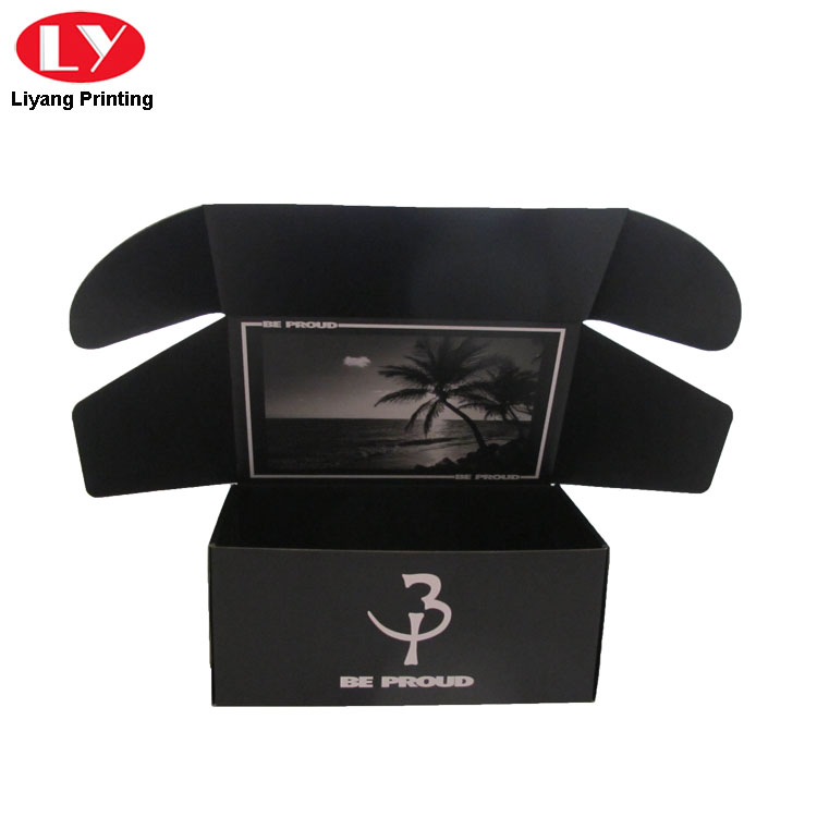 Black Foldable Tea Box