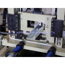 Automatic c z steel purlin roll forming machine