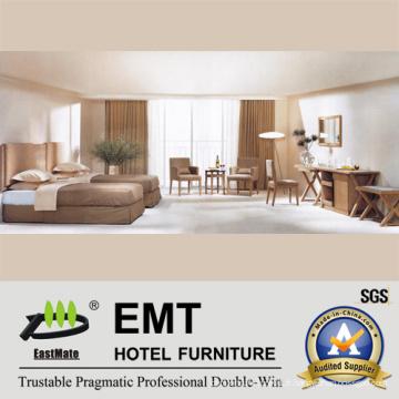 Ensemble de chambre à coucher en bois de style simple en bois (EMT-B0904)