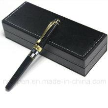 Превосходная металлическая оболочка для черной ручки для делового подарка